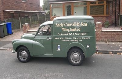 New Tiler Manchester Van